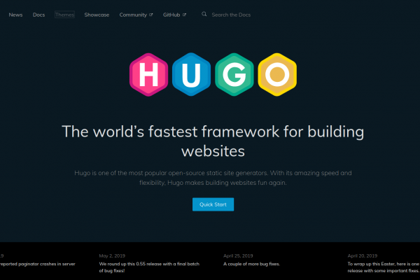 Hugo – static site generator