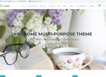 WordPress Themes : Flash