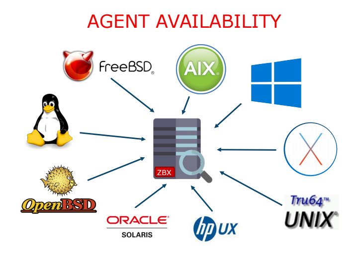 Zabbix Agent Availability