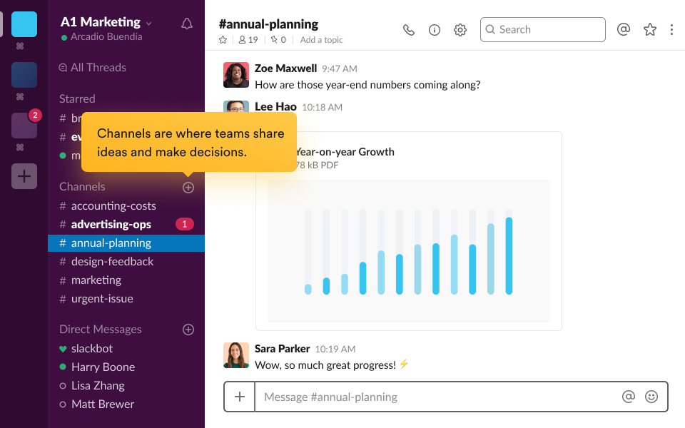 Business Software : Slack